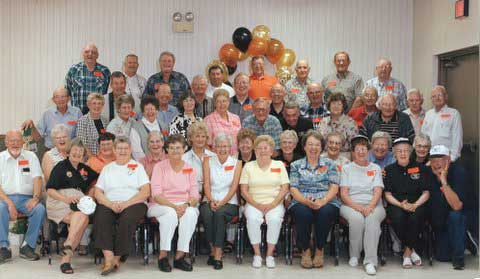 Class of '51 at our 50th Class Reunion