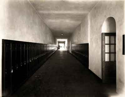 A hallway in old LHS.